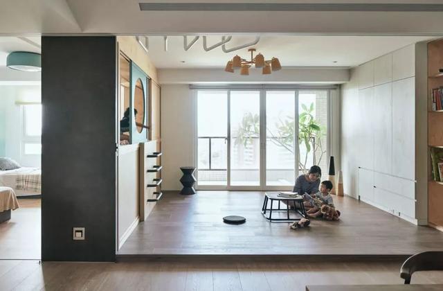在室內設計中,視覺自然是無可爭議的設計核心