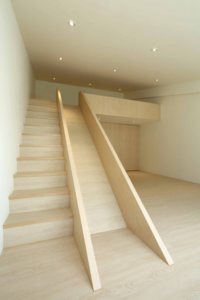 slide and stair