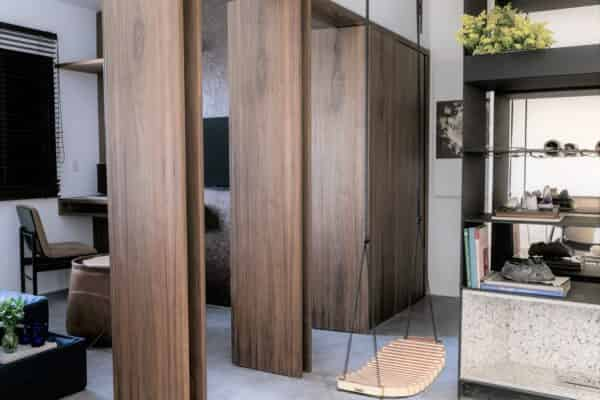 把室內設計看成自然環境-城鄉環境-社區街坊、建築室外環境-室內環境