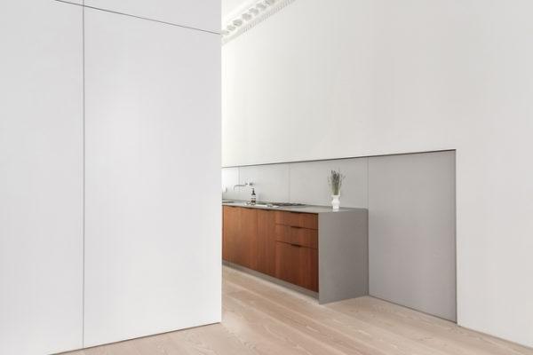 漸變原理必須以優美的室內比例作為設計根本基礎