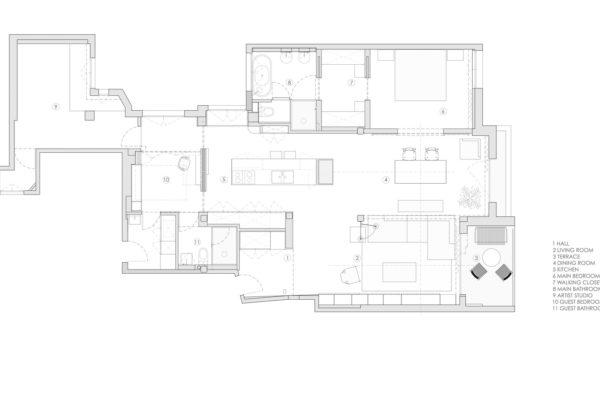 室內設計時合理地降低平頂,使室內空間適當縮小