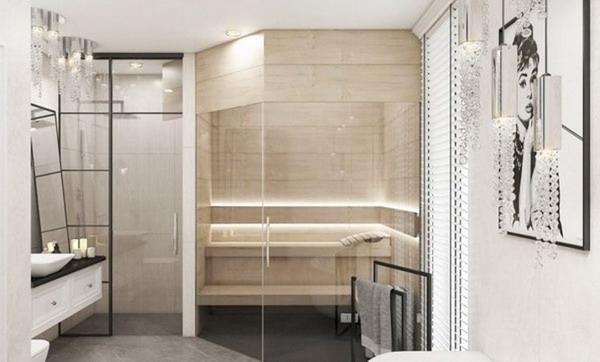 簡約主義是浴室室內設計的一種趨勢