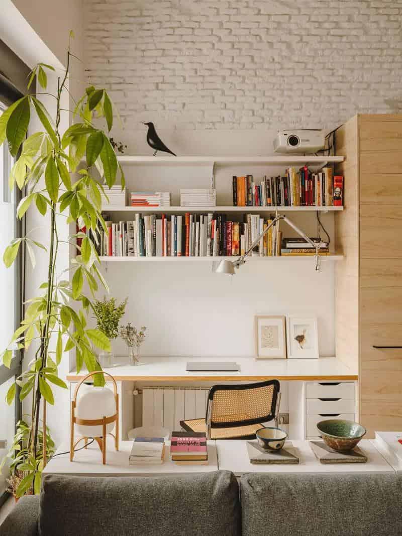 65平米住宅大翻身室內設計室內設計,不僅結合了新與舊,更是容納了超完善的功能區