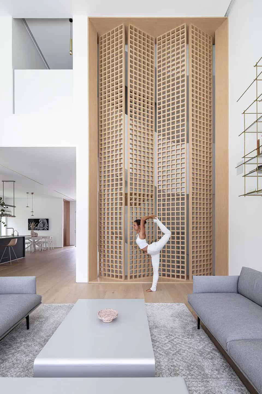 消除壓力和疲勞的寧靜之宅室內設計