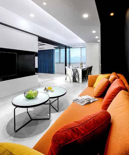 室內設計專案 分界