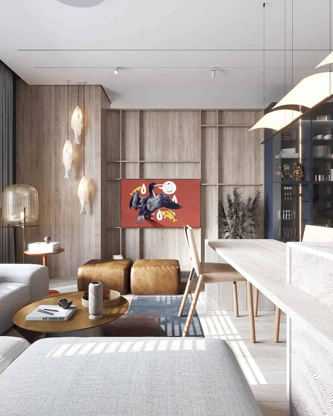 室內設計把自然融入生活 舒適極了!