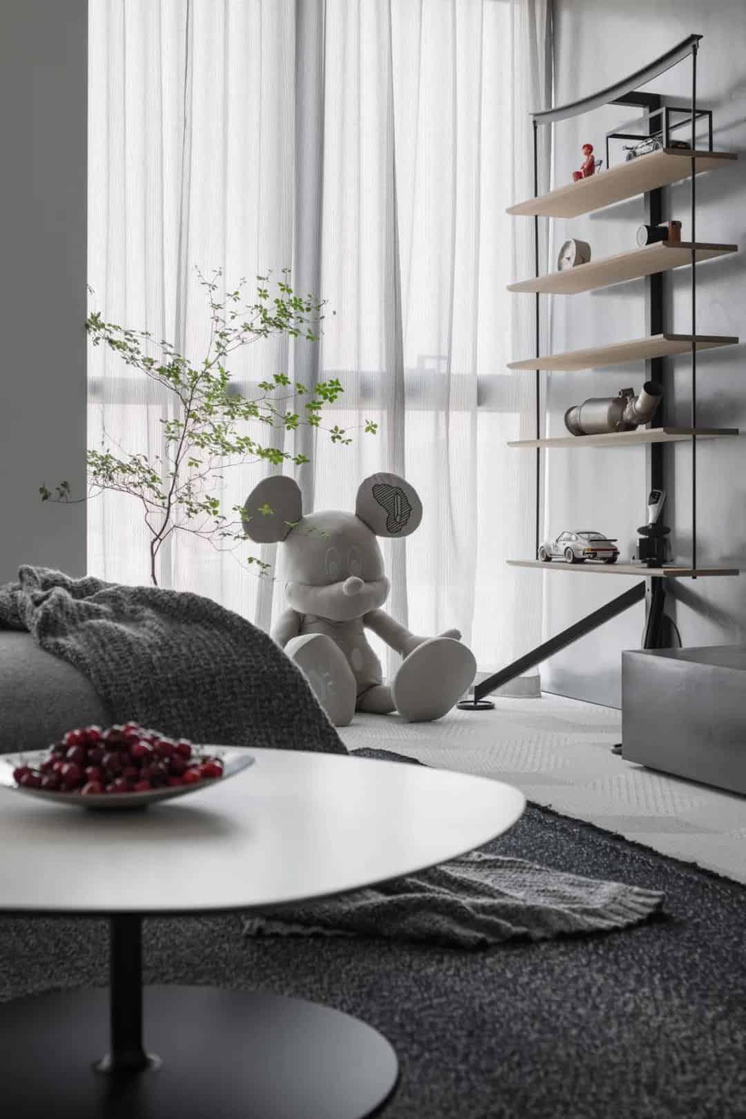 簡約風公寓室內設計,整個空間既舒適又有活力力!