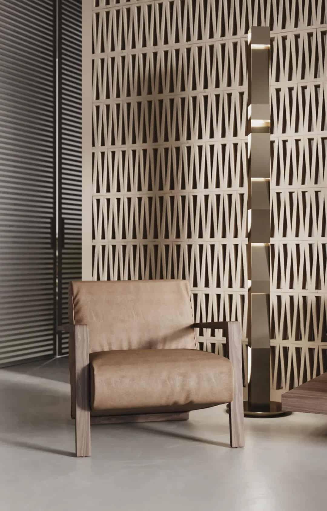 現代簡約木質空間室內設計,素淨又雅致!
