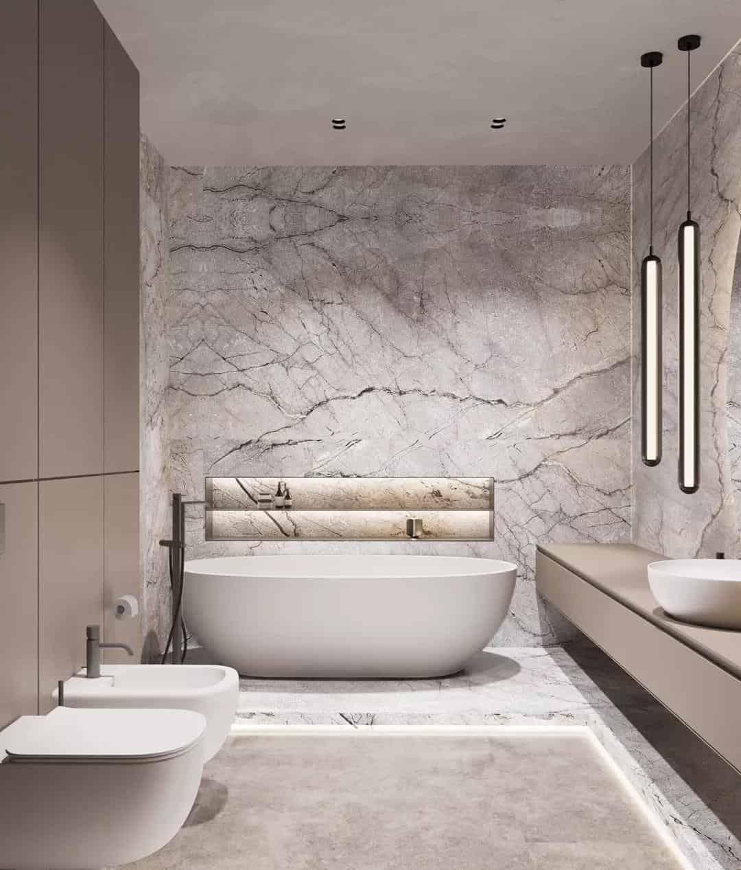 150平米極簡公寓,室內設計靈感來自大自然