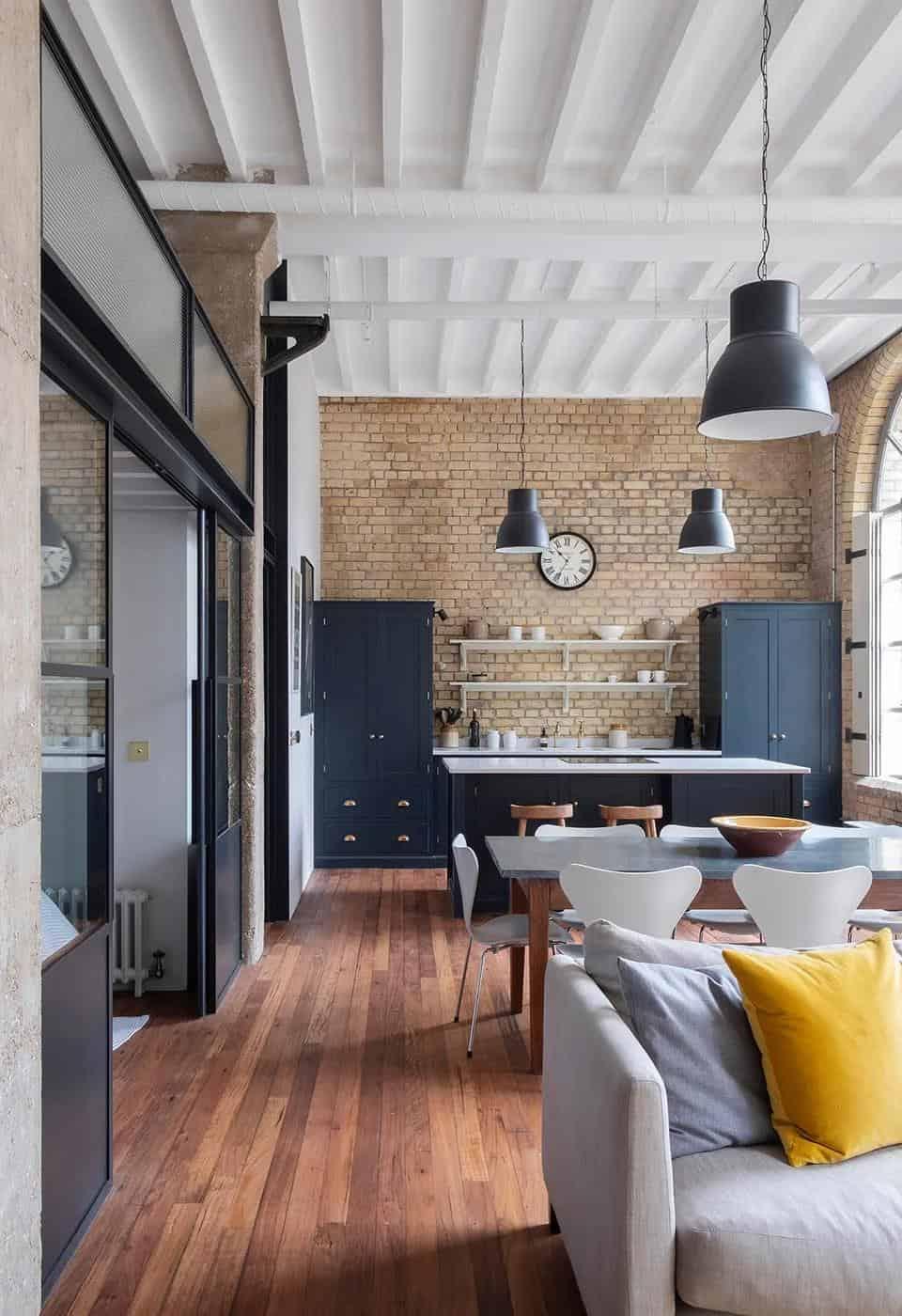 私密且令人愉悅的公寓空間室內設計!