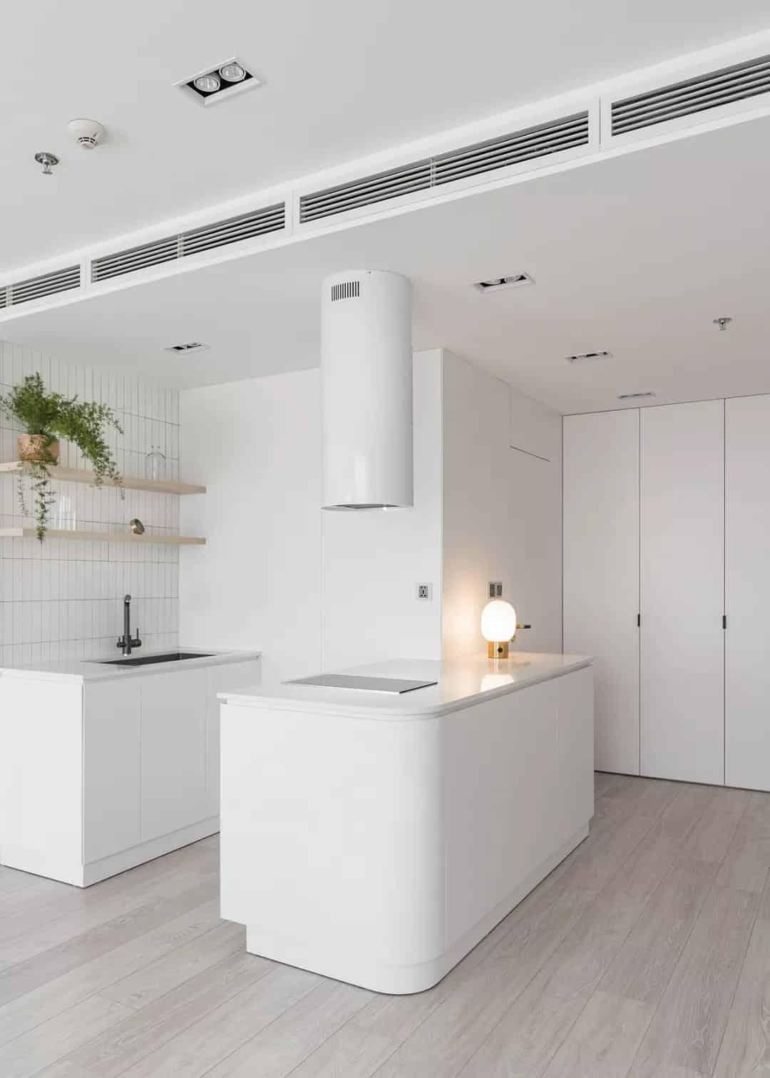原木與白色,清新自然高顏值公寓室內設計