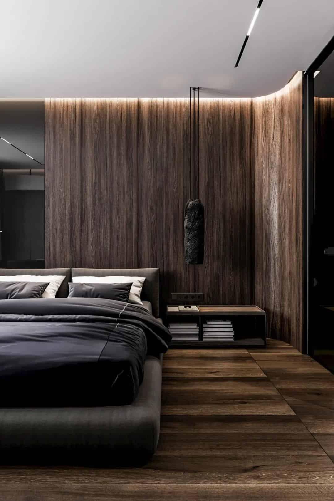 溫暖、安靜、自然的英國公寓室內設計!