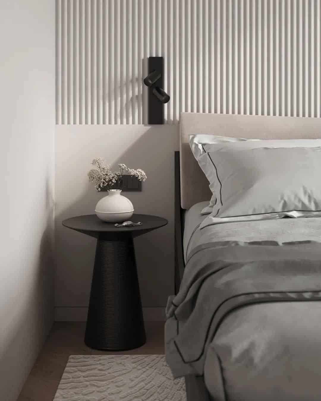 原木融合灰色調家居室內設計,既舒適又溫馨!